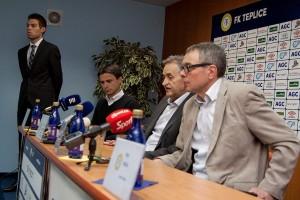 Tisková konference, FK Teplice (8)