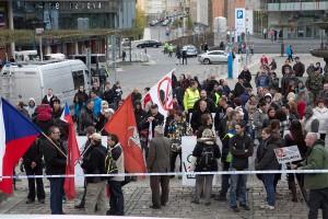 Demostrace Teplice, Arabové (8)