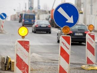 Dopravní značení, práce na silniciFoto: Filip Jandourek