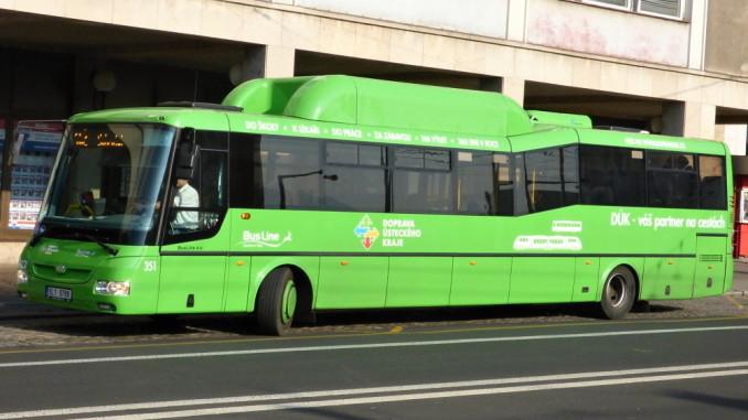 autobus krajský