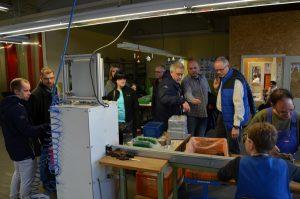 exkurze v chráněných dílnách Lebenshilfe Gardelegen